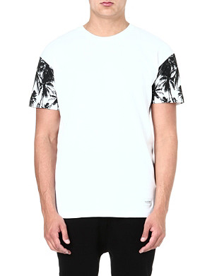 A QUESTION OF Palm-sleeve organic cotton t-shirt