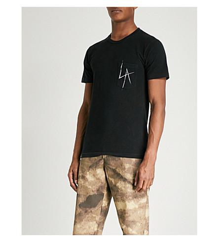LOCAL AUTHORITY LA cotton-jersey T-shirt (Black