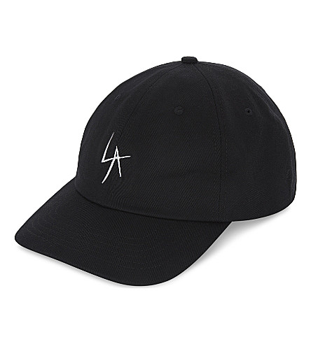 LOCAL AUTHORITY Embroidered snapback cap (Black