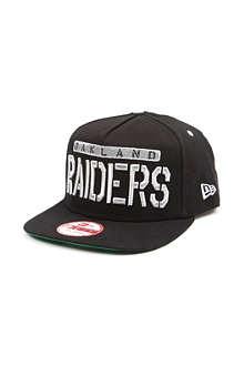NEW ERA Oakland Raiders A-frame snapback cap