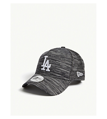 NEW ERA 9fifty engineered fit LA Dodgers baseball cap (Grey+black+graphite