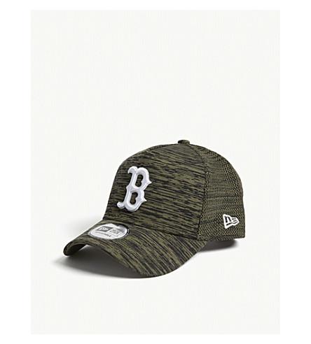 NEW ERA 9fifty engineered fit Red Sox baseball cap (Olivie+rifle+green+black
