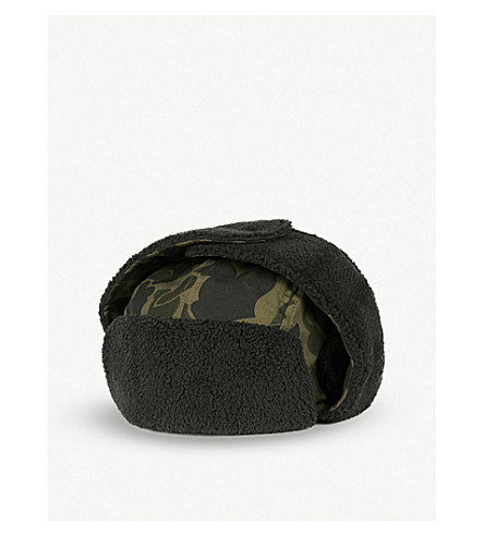 6f8e5966193 NEW ERA Winter Utility Trapper hat (Midnite+camo