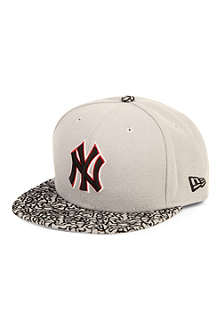 NEW ERA 59fifty concrete visor New York baseball cap