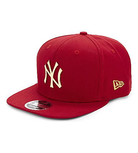 NEW ERA Yankees cotton cap (Scarlet