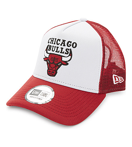 NEW ERA Chicago Bulls snapback cap (Red