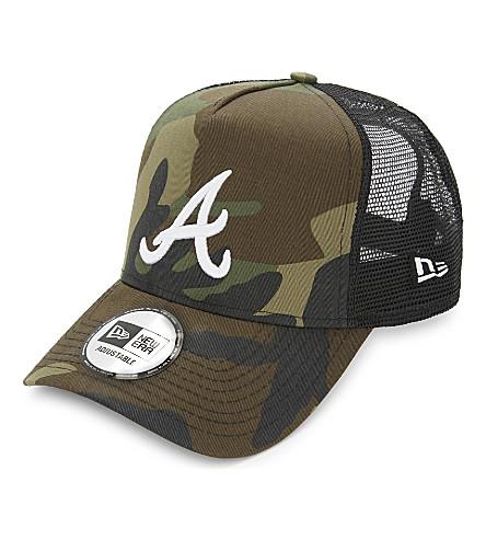 NEW ERA Atlanta Braves camouflage trucker cap (Camo