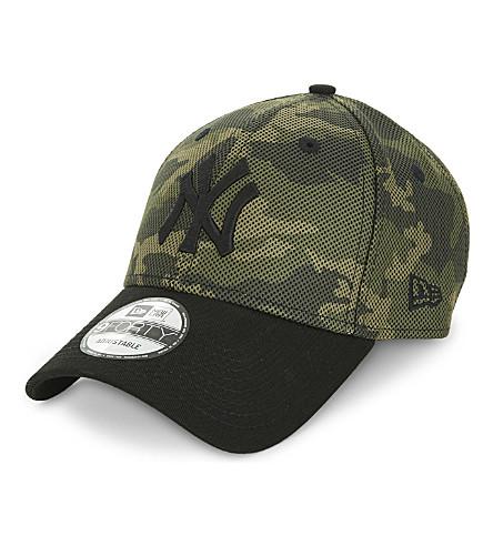 NEW ERA New York Yankees camo cotton-blend cap (Woodland+camo+black