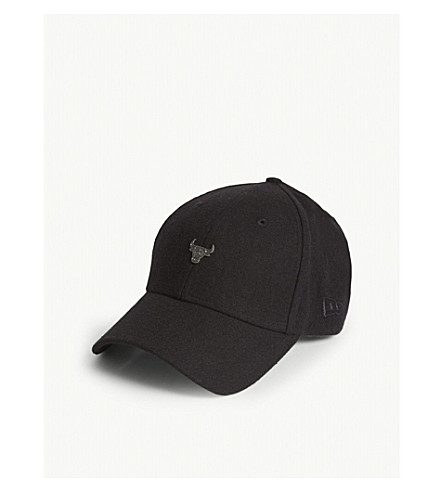NEW ERA 9FORTY Chicago Bulls strapback baseball cap (Black