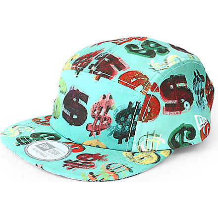 NEW ERA Andy Warhol Cha Ching Camper cap (Light blue/multi