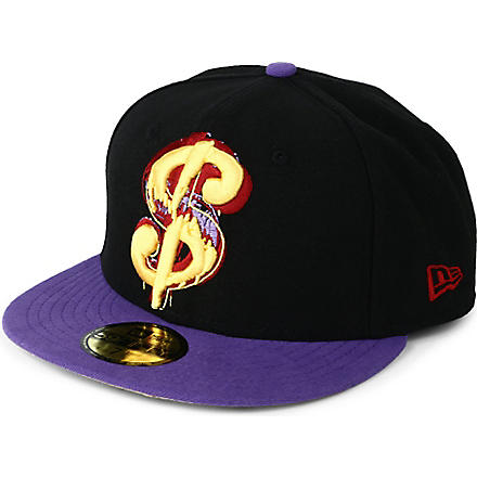 NEW ERA Andy Warhol Dollar Sign 50FIFTY cap (Black/purple
