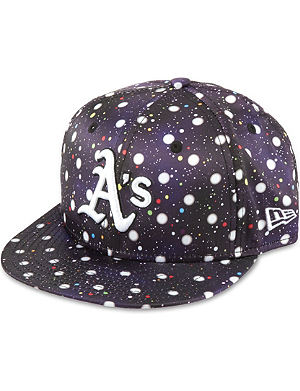 NEW ERA 59Fifty Oakland Athletics polka space cap