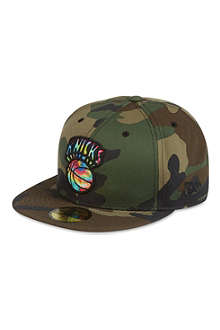 NEW ERA 59fifty camo Knicks cap