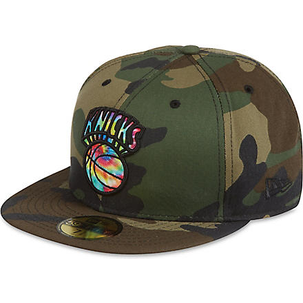 NEW ERA 59fifty camo Knicks cap (Camo