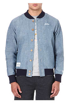 NEW ERA Chambray varsity jacket