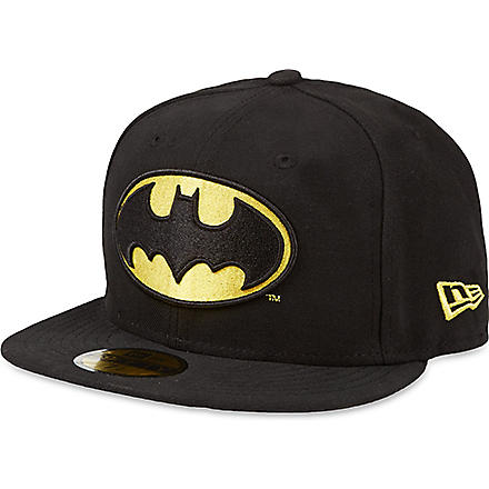 NEW ERA Batman 59fifty baseball cap (Black