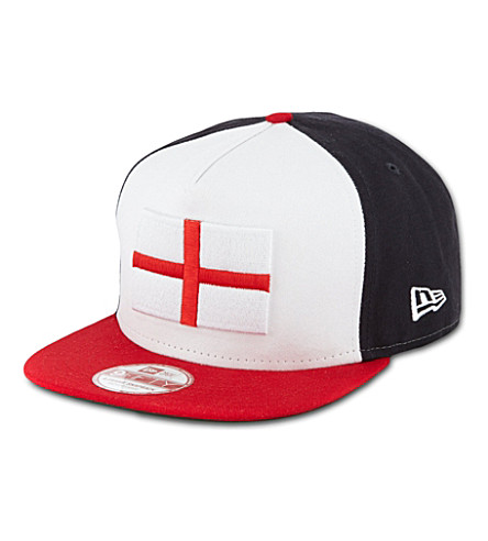 NEW ERA World flag 9fifty baseball cap (Blue/red