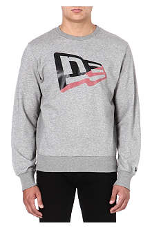NEW ERA Flag logo sweatshirt