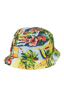 NEW ERA Hawaii print bucket hat