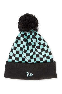 NEW ERA Jeremy Scott chequered beanie hat