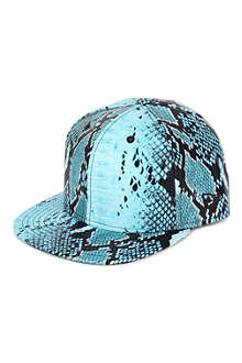 NEW ERA Jeremy Scott faux-snake 59FIFTY baseball cap