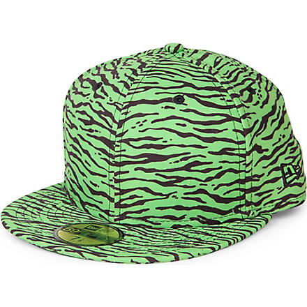 NEW ERA Jeremy Scott Tiger 59fifty cap (Green/black
