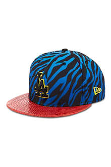 NEW ERA Jungle mashup zebra print 9fifty baseball cap