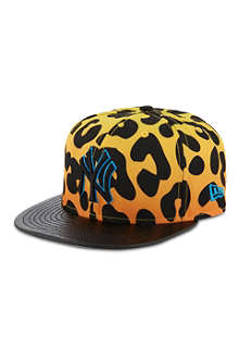 NEW ERA Leopard print 9fifty baseball cap