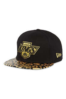 NEW ERA 9fifty leopard print LA Kings cap