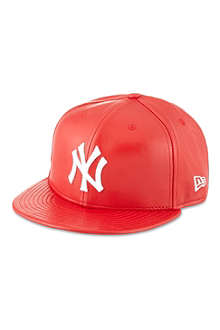 NEW ERA Leather New York Yankees cap