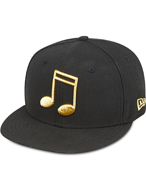 NEW ERA 59FIFTY metallic note fitted cap
