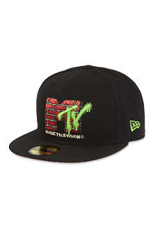 NEW ERA 59fifty MTV logo cap