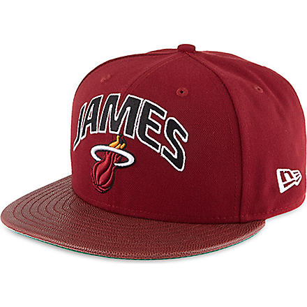 NEW ERA Lebron James 59fifty snapback (Red
