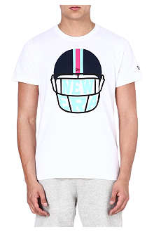 NEW ERA Helmet logo t-shirt