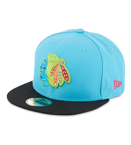 NEW ERA 59fifty Pop neon cap (Blue/black