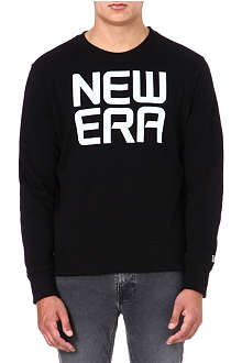 NEW ERA Logo jersey sweatshirt