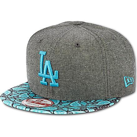 NEW ERA LA Dodgers 9fifty baseball cap (Black/blue