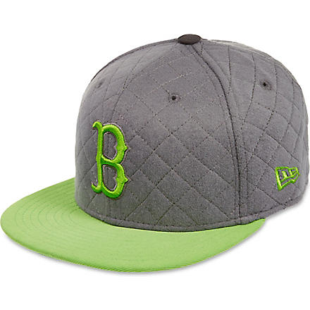 NEW ERA Quilted Boston Red Sox baseball cap (Grey