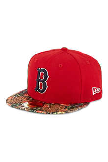 NEW ERA 59fifty Red Sox snake visor cap
