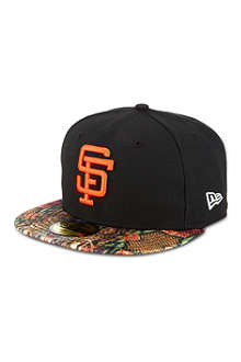 NEW ERA 59fifty Giants snake visor cap