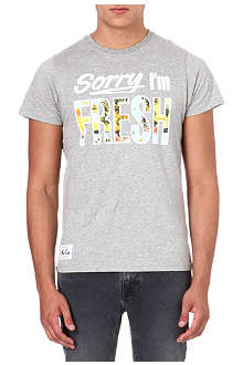 NEW ERA Sorry I'm Fresh t-shirt