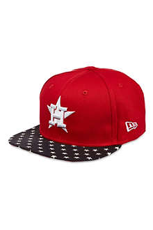 NEW ERA 9fifty Houston flag visor cap