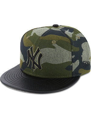 NEW ERA 59fifty New York Yankees camouflage fitted cap