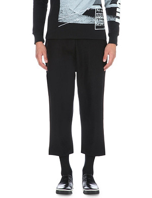 BLOOD BROTHER Wide-leg wool-blend trousers