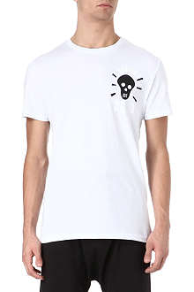 SYSTVM Dead skull cotton t-shirt