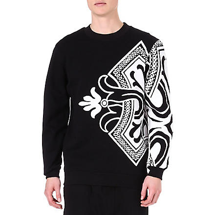 SYSTVM Playing Card sweatshirt (Black