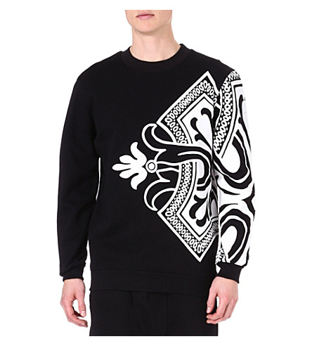 SYSTVM Playing Card sweatshirt (Black