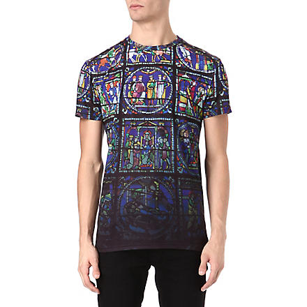 SYSTVM Church glass t-shirt (Multi