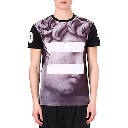 SYSTVM David printed t-shirt (Black