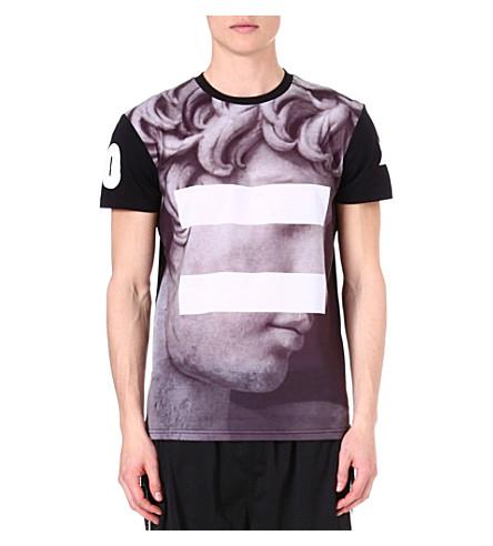 SYSTVM David printed t-shirt (Black